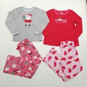 Fleece pajamas bundle.